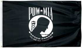 Eder Flag Co 89384 POW-Mia Flag 3x5 E-Poly