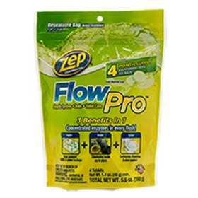ZEP, INC/ENFORCER PRODS ZFLOW4 Flowpro Septic Toilet Drain Cleaner