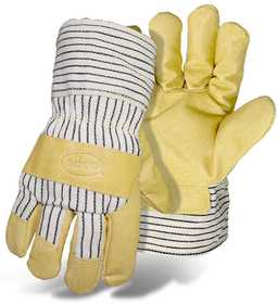 Boss Mfg Co 4399 Poly-Insulated Grain Pigskin Palm Safety Glove Large