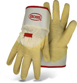 Boss Mfg Co 8424 Boss Power Grip Latex Dipped Glove Size Large