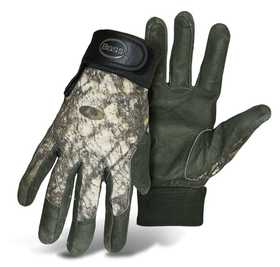 Boss Mfg Co 330GMOL Mossy Oak Shooter's Glove Pigskin Large