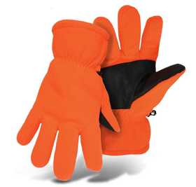 Boss Mfg Co 1407AL Sure Grip Palm Fleece Lined Glove Orange