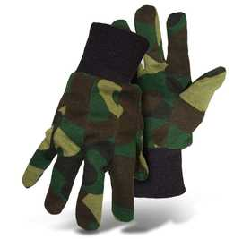 Boss Mfg Co 4201CL Jersey Glove Camoflage Large