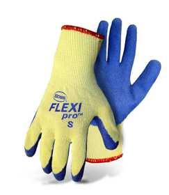 Boss Mfg Co 7420L Flexi Pro™ Cut Resistant Knit Latex Palm Glove Large