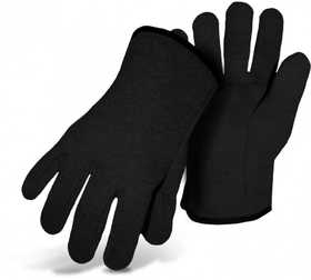 Boss Mfg Co 435 Therm Lined Slip On Jersey Glove Black