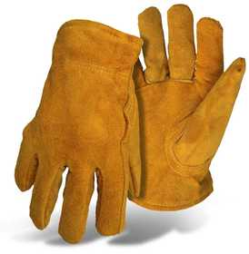Boss Mfg Co 4176M Pile Lined Leather Glove Medium