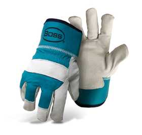 Boss Mfg Co 4199B Women's Therm Insulated Pigskin Leather Palm Glove Small