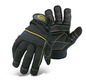 Boss Mfg Co 5202L Multi-Purpose Padded Knuckle Utility Gloves, Large