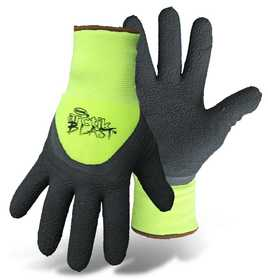 Boss Mfg Co 7845M Arctik Blast™ High-Vis Green Textured Latex Palm Glove Medium