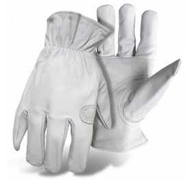 Boss Mfg Co 4060M Ladies' Premium Goatskin Gloves With Padded Palm Patch Size Medium