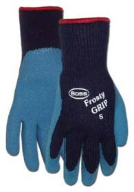 Boss Mfg Co 8439L Gloves Frosty Grip Heavyweight Latex Palm