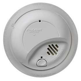 First Alert 9120B 120V AC/DC Hardwired Smoke Alarm With Battery Backup