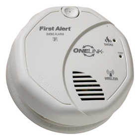 First Alert SA501CN-3ST Wireless Interconnect Battery Operated Smoke Alarm