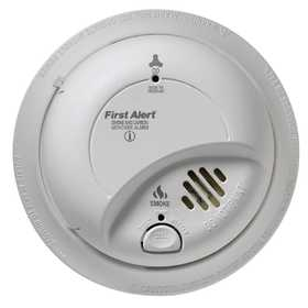 First Alert SC9120B 120v Ac/Dc Hardwired Smoke And Carbon Monoxide Alarm With Battery Backup