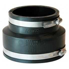 Fernco P-1006-44 Coupling 4 in Conc To 4 in Cast Or Plastic