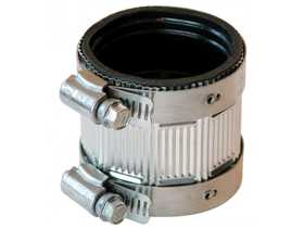 Fernco PNH150 Coupling No Hub 11/2 in Stainless Steel Shld