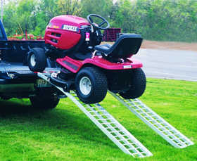 Five Star Mfg 712BL Aluminum Arch Mower Ramp