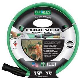 Flexon FXG3475 Lifetime Premium Hose 3/4x75 5ply