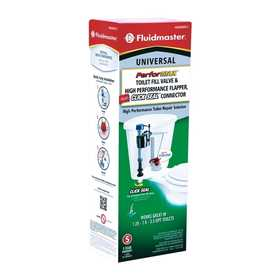 Fluidmaster 400ARHRFCS PerforMAX Toilet Fill Valve, Flapper And Click Seal Connector Kit