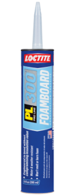 Loctite Products 1421941 Adhesive Foam Board 10 oz Pl300