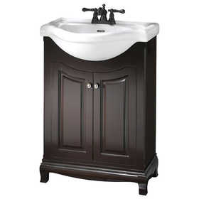 Foremost Groups PAEA2534 25x34 Vanity With China Top Palermo