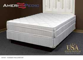 Fraenkel SU50T Summit Euro Pillow Top Queen Size Mattress
