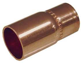 JMF Company 2541012089802 Copper Fitting Reducer 3/4 x 1/2