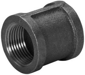 JMF Company 3516516089883 Coupling 1 in X 1/2 Black