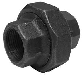JMF Company 3565720209802 Union 11/4 Black