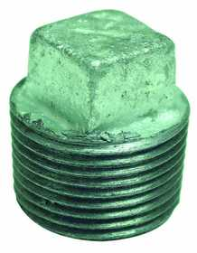 JMF Company 3739612989892 Square Head Plug 3/4 Gal vanized