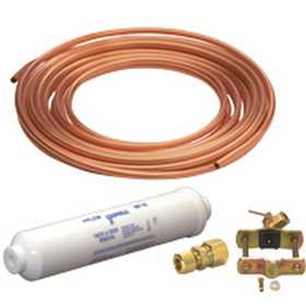 JMF COMPANY 93015-8 ICEMAKER/HUMIDIFIER KIT 15 COPPER W/VALVE LEAD FREE