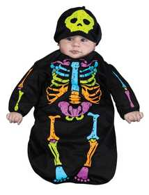 Fun World 8676 Skele-Baby Bunting