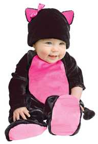 Fun World 117191 Baby Black Kitty