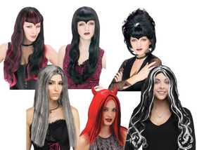 Fun World 92604 Sinister Woman's Wig Assortment