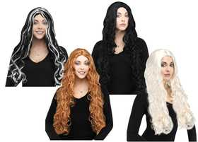 Fun World 9231 30 in Long Curly Wig Assortment