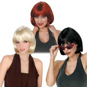Fun World 92093 Short Bob Wig