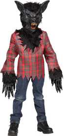Fun World 5813 Werewolf Child Brown