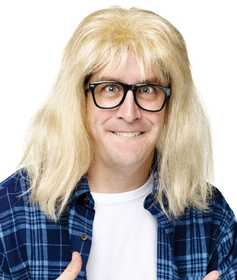 Fun World 92195 SNL Garth Wig & Glasses