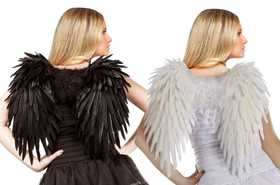 Fun World 90440 Angelic Feather Wings