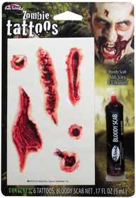 Fun World 9625 Bloody Super Toos Makeup Kit Zombie