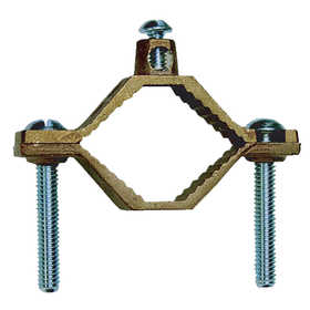 Sigma Electric/Gampak 41311 1 1/4-Inch - 2-Inch Bronze Grounding Clamp