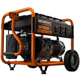 Generac Power Systems 5939 5500w Portable Generator