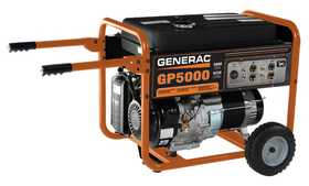 Generac Power Systems 5622-0 5000w Portable Generator