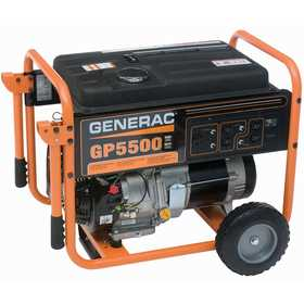 Generac Power Systems 5736-0 5500w Poratable Generator