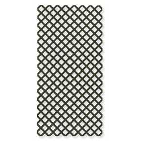 Genova LF100 Vinyl Lattice Panel 4x8 Forest Green