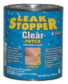 Gardner-Gibson 0338-GA Leak Stopper Clear Multi Purpose Patch Qt