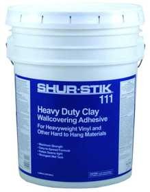 Gardner-Gibson 8711-3-30 Wallpaper Adhesive Heavy Duty Clay 5 Gal
