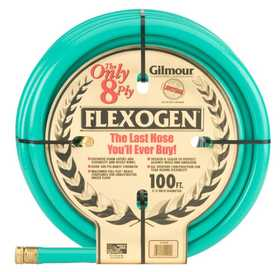 Gilmour 10-34100 Hose 3/4x100 ft Flexogen 8ply