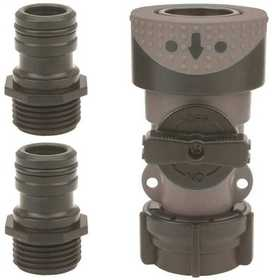 Gilmour 29Q Polymer Quick Hose Connector Set 3-Piece