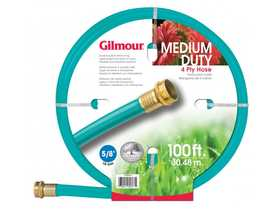 Gilmour 15-58100 Outdoor Hose 5/8x100 ft 4ply Reinforced